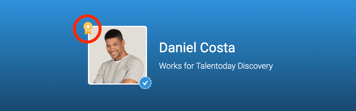 Talentoday certification badge